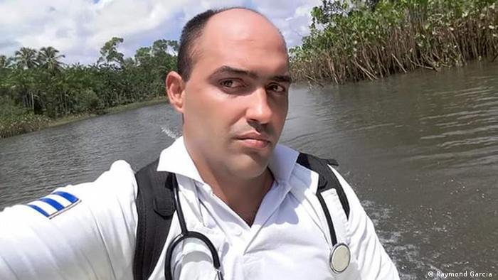 Cuban doctor Raymond Garcia in Brazil