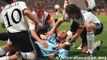 Fußball-EM 1996  Halbfinale England vs. Deutschland