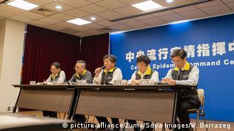 Taiwan Taipeh | Coronavirus | Chen Shih-chung, Gesundheitsminister (picture-alliance/Zuma/Sopa Images/W. Berrazeg)
