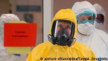 Russland Moskau | Coronavirus | Wladimir Putin, Präsident