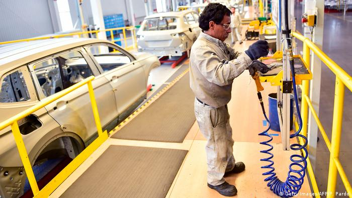 Industria automotriz en México.