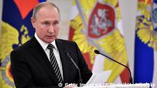 Russland Moskau 2019 | Wladimir Putin, Präsident