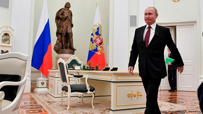 Russland Moskau 2019   Wladimir Putin, Präsident