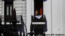 Argentinien Buenos Aires |Jahrestag Diktatur - Symbol Tücher