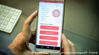 Spanien | Coronavirus | APP Erkennen von Symptomen