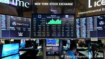 На нью-йоркской бирже