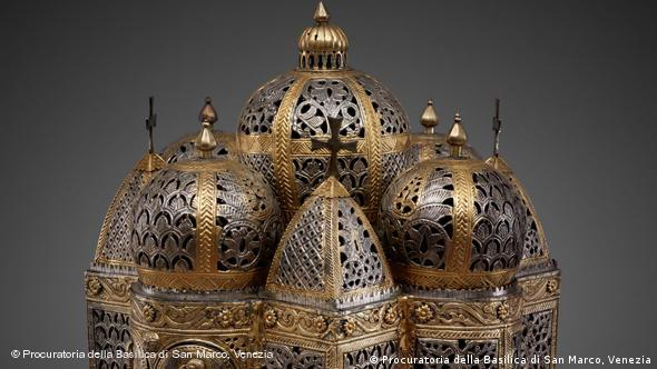 Кадило. Серебро с позолотой, конец 12 века. Собор Св. Марка, Венеция