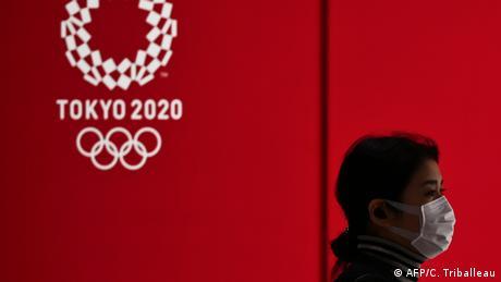 Japan Tokio Olympische Spiele verschoben