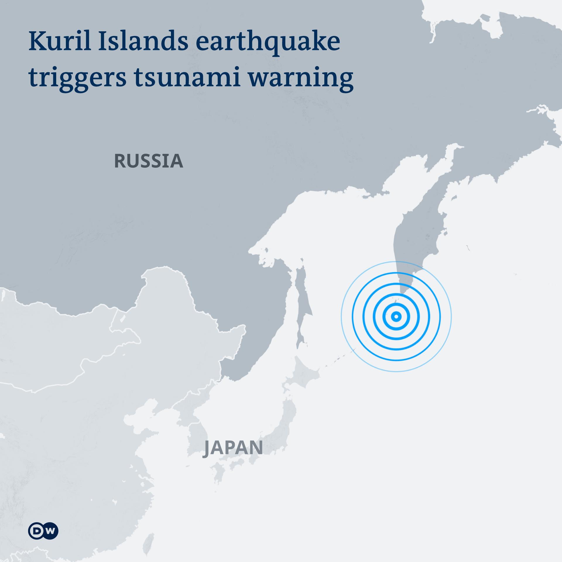 Kuril Island Earthquake
