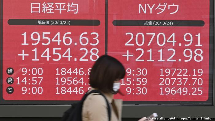 Japan Tokio Börse Nikkei Index Zahlen