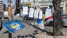 Ein Spendenzaun in Berlin-Kreuzberg (Foto vom 24.03.2020). In ganz Deutschland entstehen derzeit sogenannte Spenden- od