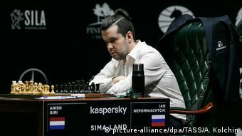 Russland Yektaerinburg | FIDE Schachturnier 2020 - Ian Nepomniachtchi