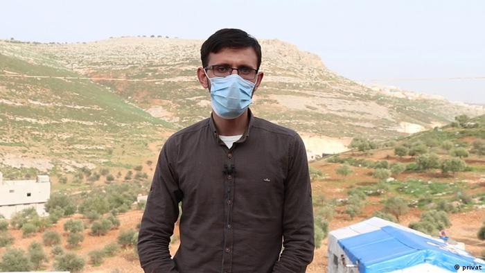 Syrien Türkei Grenze Flüchtling Mohamed