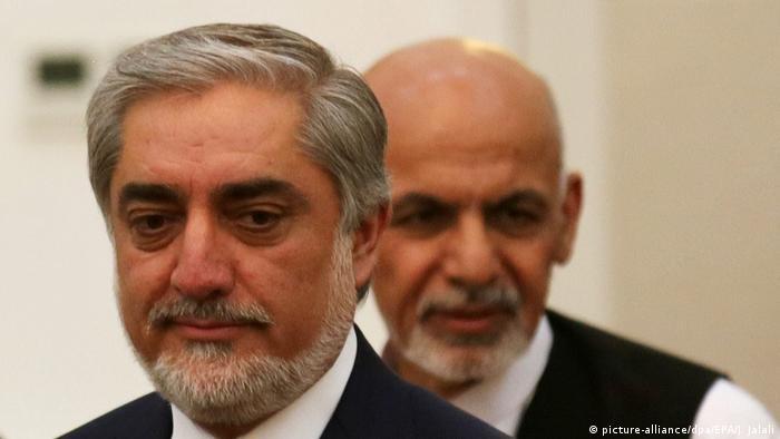 Zerstritten: Abdullah Abdullah und Aschraf Ghani