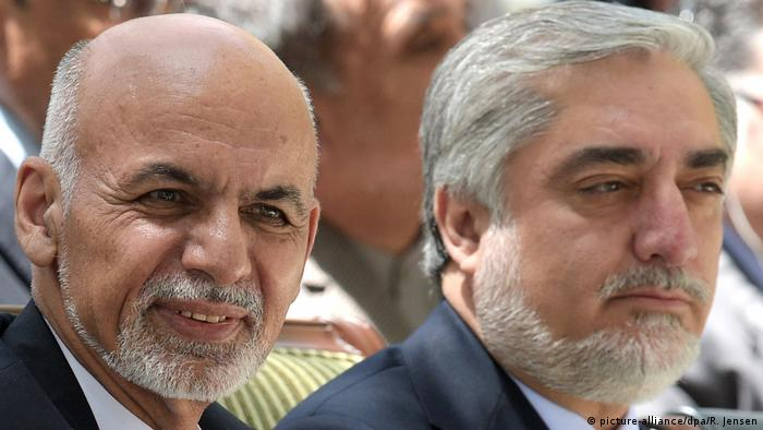 Aschraf Ghani und Abdullah Abdullah