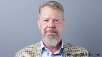 Pressesprecher der AfD Sachsen - Andreas Harlaß (picture-alliance/dpa/ZB/S. Kahnert)