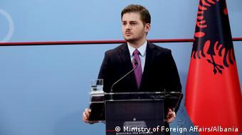 Gent Cakaj Albanien Minister für äußere Angelegenheiten