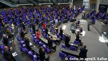 Berlin | Coronakrise : Bundestagssitzung