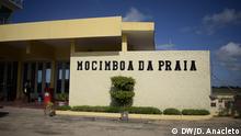 Fughafengebäude in der Stadt Mocímboa da Praia, Provinz Cabo Delgado, im Norden Mosambiks. Titel: Aerodromo Mocímboa da Praia Ort: Mocímboa da Praia, Provinz Cabo Delgado, Mosambik Datum: 2020 Fotograf: Delfim Anacleto
