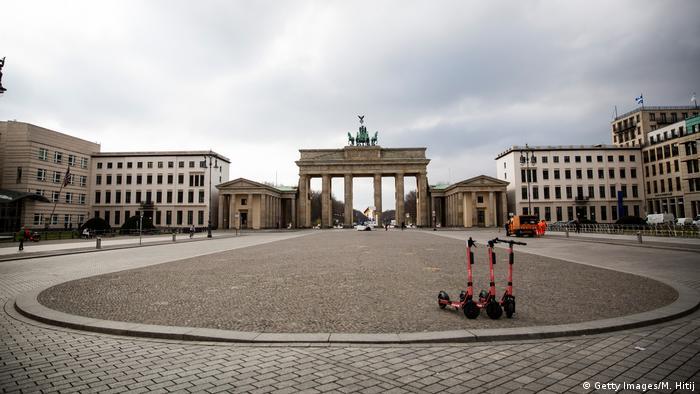 Berlin | Coronavirus: Pariser Platz (Getty Images/M. Hitij)