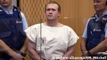 Christchurch: Brenton Tarrant - Angeklagter