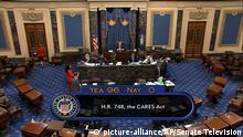 Washington Abstimmung im US-Senat zu Corona-Hilfspaket