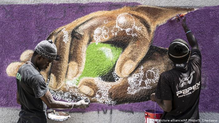 Covid-19: Graffiti à Dakar