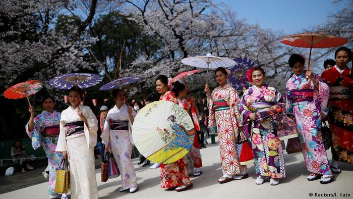 Kirschblüte Ueno Park in Tokyo Japan (Reuters/I. Kato)