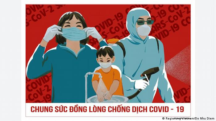 A Vietnamese government propaganda poster