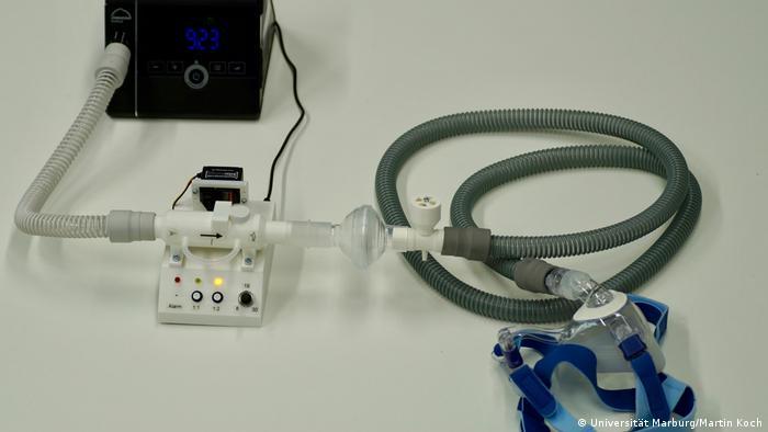 Marburg | CPAP-System zur Beatmung mit Erweiterung