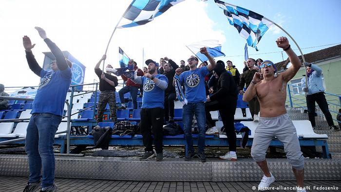 Weißrussland Coronavirus Fußball Fans