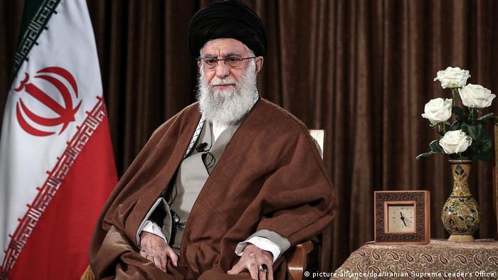 Irans geistliches Oberhaupt Ajatollah Ali Chamenei sieht finstere Mächte hinter dem Coronavirus am Werk