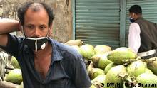 Bangladesh Coronavirus Ausgangsperre