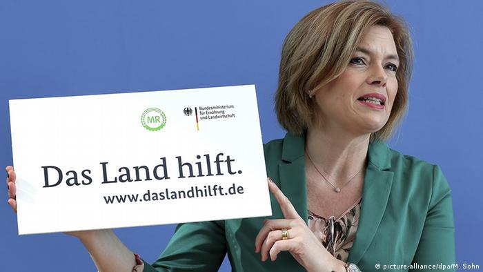 Deutschland Coronavirus PK Klöckner und Scheuer (picture-alliance/dpa/M. Sohn)