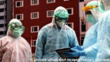Taiwan Taipei | Übung gegen Ausbreitung des Coronavirus
