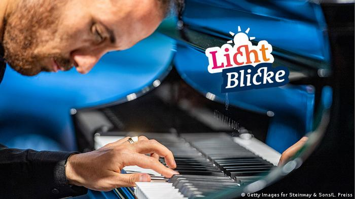 Sticker Lichtblicke - Bright spot | DEU | Coronavirus | Igor Levit, Pianist