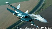 Russischer Kampfjet Su-27