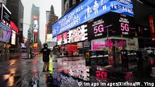 USA New York | Coronakrise: Times Square