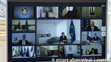Symbolbild Coronavirus - EU-Videogipfel