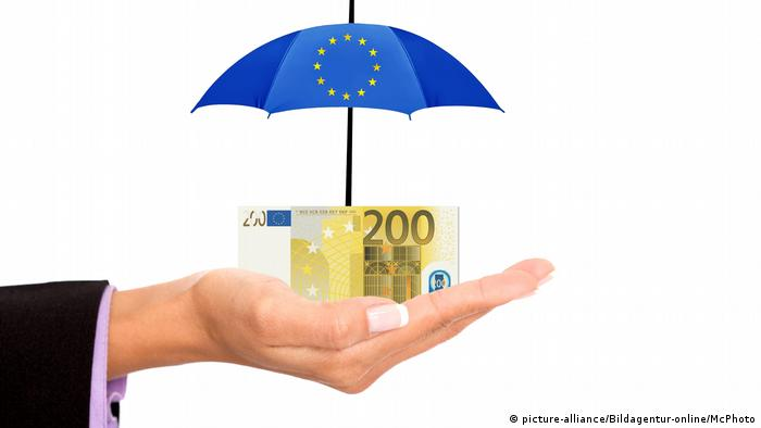 Symbolbild EU Rettungsschirm (picture-alliance/Bildagentur-online/McPhoto)