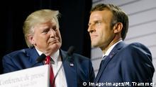 Coronakrise Macron und Trump haben gutes Gespräch ARCHIV