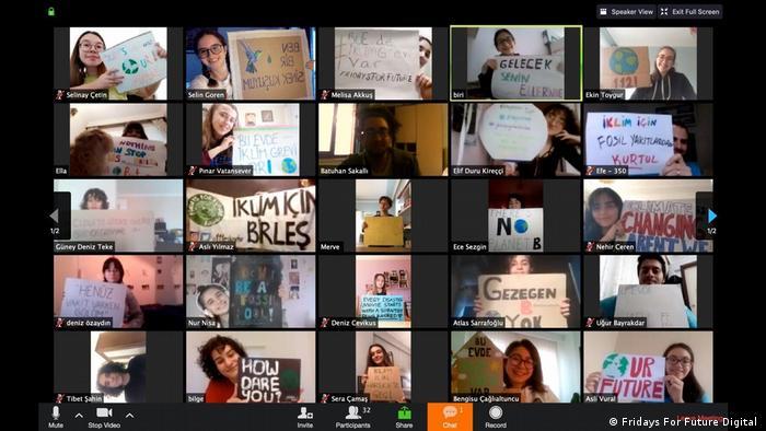 Globale Klimaproteste leiden unter Corona-Pandemie und Ausgangssperren