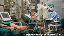 Coronavirus in Italien Pavia Patient auf Intensivstation