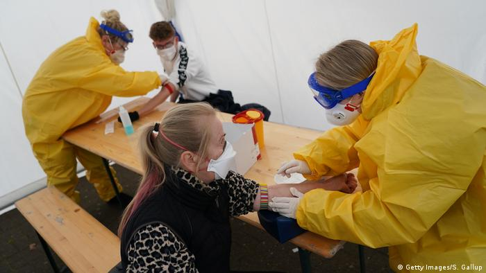 Berlin Doctor Offers Covid-19 Testing Deutschland (Getty Images/S. Gallup)