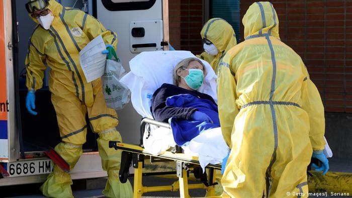 İspanya'da can kaybı 800'ü aştı