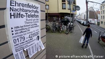 Ponuda pomoći susjedima u Kölnu