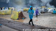 Grenze Türkei Griechenland | Pazarkule-Zentrum | Flüchtlinge