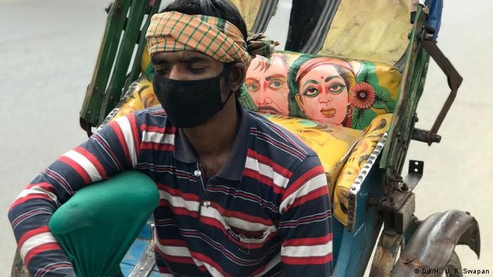 Bangladesh | Coronavirus | Dhaka | Lockdown (DW/H. U. R. Swapan)