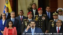 Venezuela Maduro (picture-alliance/AP Photo/M. Delacroix)