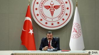 Ο υπουργός Υγείας της Τουρκίας Φαχρετίν Κοτσά